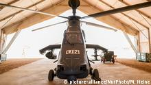 Mali Bundeswehr Tiger Kampfhelikopter (picture-alliance/NurPhoto/M. Heine)
