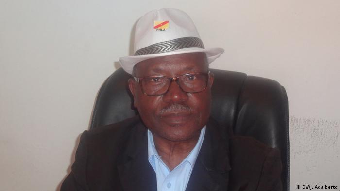 Lucas Ngonda Präsident der FNLA-Partei