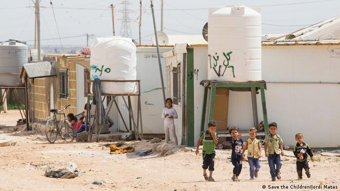 Jordanien Kinder im Zaatari Flüchtlingslager (Save the Children/Jordi Matas)