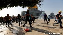 Israel Jerusalem Gewalt am Tempelberg