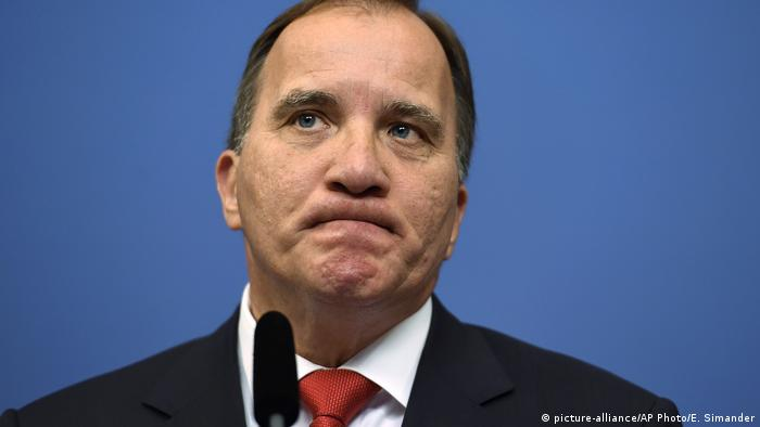 Schweden Stockholm Stefan Lofven (picture-alliance/AP Photo/E. Simander)
