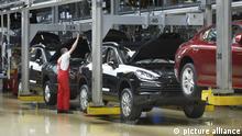 Porsche Cayenne Produktion im Werk Leipzig