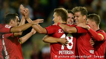 Fußball Europa League SC Freiburg - NK Domzale (picture-alliance/dpa/P. Seeger)