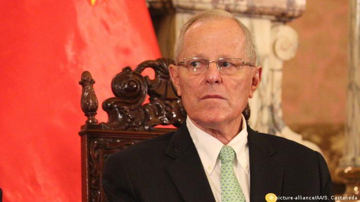 Peruanischer Präsident Pedro Pablo Kuczynski (picture-alliance/AA/S. Castaneda)