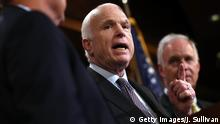 USA Washington Senator John McCain