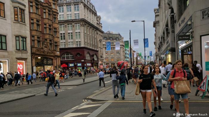 England Obdachlose in London (DW/A. Frymann Rouch)
