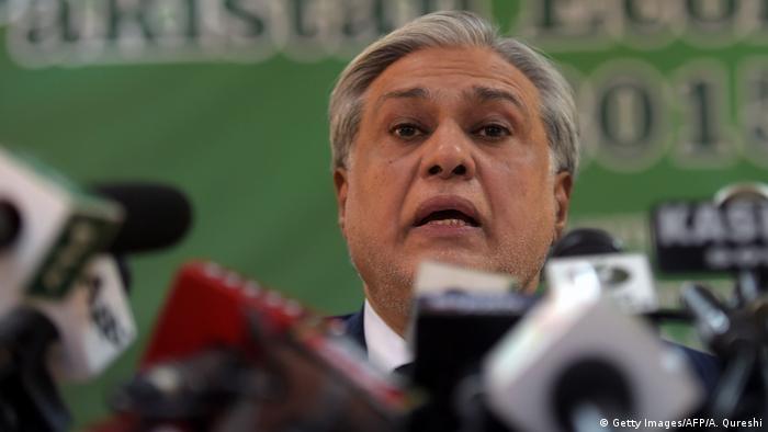Former Pakistani finance minister Ishaq Dar (Getty Images/AFP/A. Qureshi)