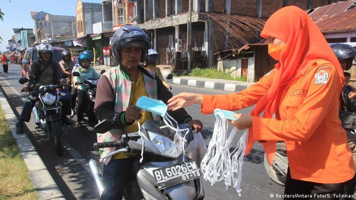 Indonesien Waldbrand im Provinz Aceh (Reuters/Antara Foto/S. Yulinnas)
