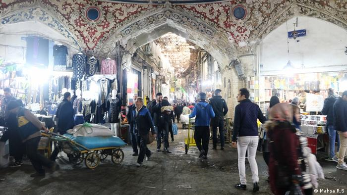 Iran Bildergalerie Basar in Teheran