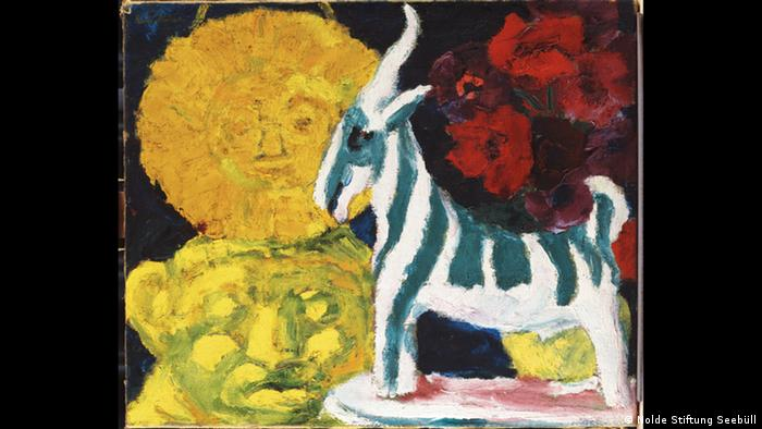 Emil Nolde Still Life with a Striped Goat 1920 (Nolde Stiftung Seebüll)