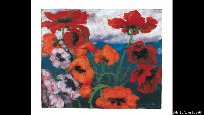 Emil Nolde Large Poppies 1942 (Nolde Stiftung Seebüll)