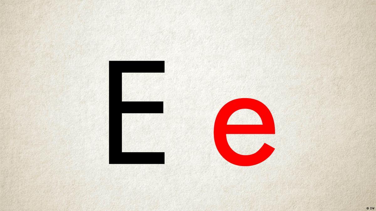 E e   ABC – Learn the alphabet!   DW Learn German