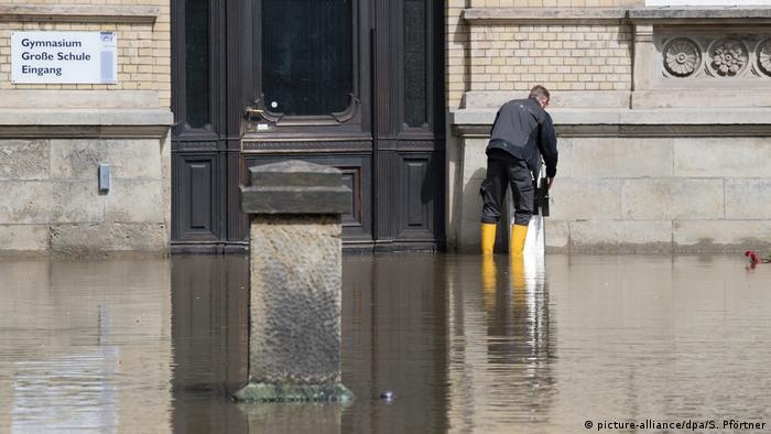 Deutschland - Hochwasser in Wolfenbüttel