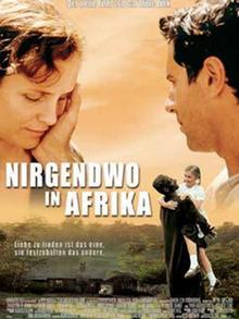 Nirgendwo in Afrika Filmplakat