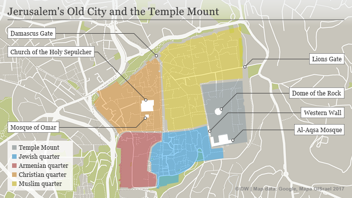 The Temple Mount: A clash of cultures | Middle East| News ...