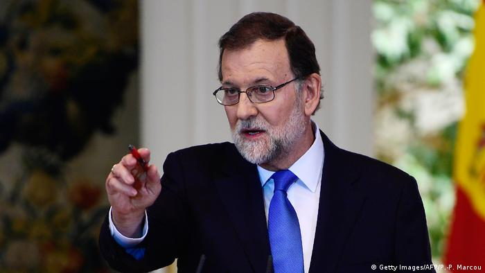 Spain's Prime Minister Mariano Rajoy (Getty Images/AFP/P.-P. Marcou)