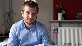 Belgian defense lawyer Mathieu Simonis