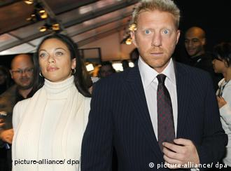 Boris Becker i Lilly Kerssenberg