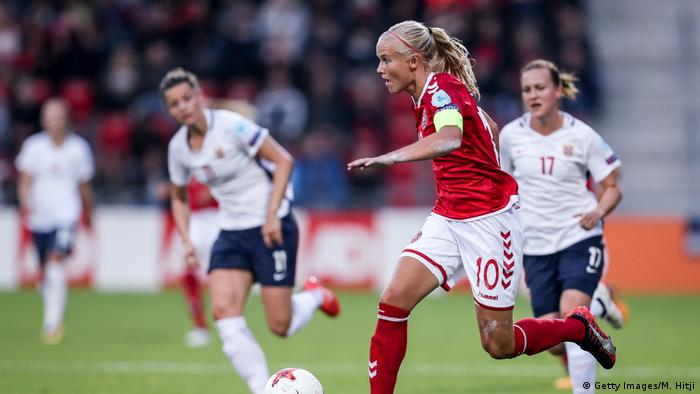 Norway vs Denmark - UEFA Women's Euro 2017: Group A - Pernille Harder (Getty Images/M. Hitji)