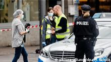 Deutschland Messerattacke in Supermarkt in Hamburg