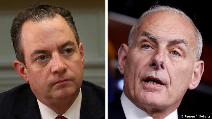 Reince Priebus and John Kelly