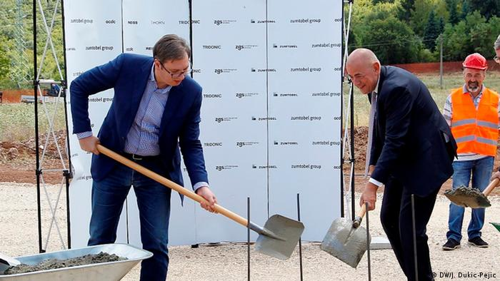 Serbien Nis Zumtobel investiert in Serbien