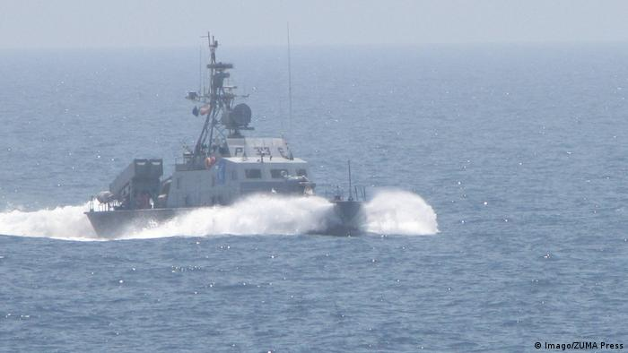 File image of a ship belonging to the Iranian Revolutionary Guards Corps Navy