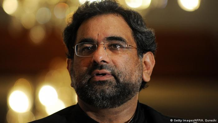 Pakistan Islamabad - Shahid Khaqan Abbasi (Getty Images/AFP/A. Qureshi)