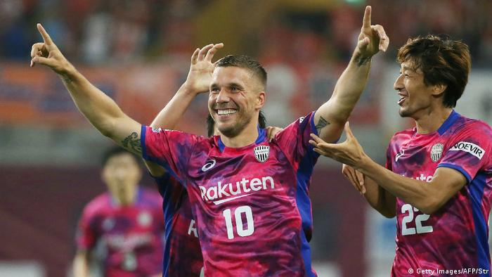 Japan Kobe - Vissels Kobe vs Omiya Ardija - Lukas Podolski (Getty Images/AFP/Str)