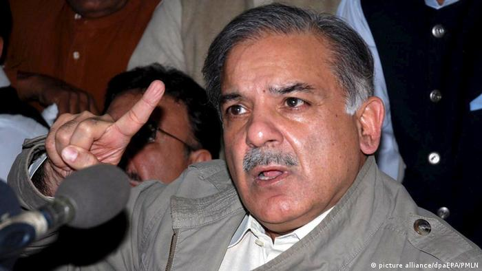 Pakistan Shabaz Sharif (picture alliance/dpaEPA/PMLN)
