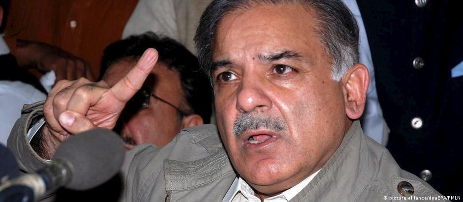 Shahbaz Sharif é o atual governador da província de Punyab