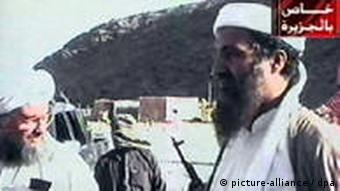 Bin Laden und El Zawahiri in El Kaida Camp