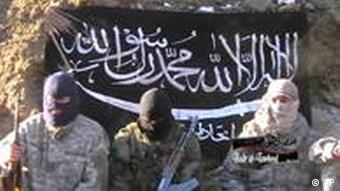 Islamistisches Video, indem Muslime weltweit dazu aufgerufen werden, den Kampf der Palästinenser zu unterstützen (Foto: AP)