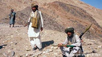 Terroristen-Ausbildung im afghanisch-Pakistanischen Grenzgebiet (Foto: dpa)