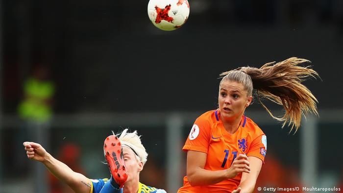Fussball Europameisterschaft der Frauen 2017 Niderlande vs Schweden (Getty Images/D. Mouhtaropoulos)