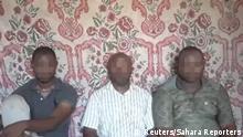 Nigeria Arbeiter einer Ölfirma durch Boko Haram entführt