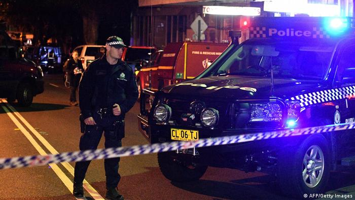 Australien | Anti-Terror Razzien in Sydney (AFP/Getty Images)