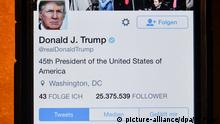 Twitter-Account von Donald Trump