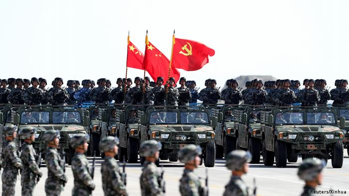 China Militärparade in Zhurihe (Reuters/Xinhua)