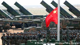 China Militärparade in Zhurihe (picture-alliance/Xinhua/Pang Xinglei)