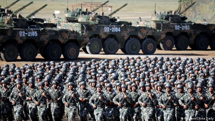 Kina je povećala izdatke za vojsku, ali to nije ništa neobično