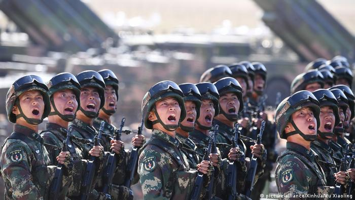 China Militärparade in Zhurihe (picture-alliance/Xinhua/Wu Xiaoling)
