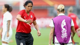 Niederlande Frauen-Fußball-EM in Rotterdam - Deutschland vs. Dänemark (Getty Images/M. Hitij)