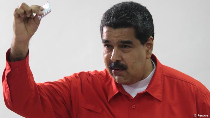 Venezuela Wahlen - Präsident Nicolas Maduro (Reuters)