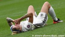 Niederlande Frauen-Fußball-EM in Rotterdam - Deutschland vs. Dänemark