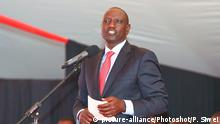(170707) ELDORET(KENYA), July 7, 2017 () Kenyan Deputy President William Ruto delivers a speech on the launching ceremony of the Special Economic Zone project in Eldoret, Kenya, on July 7, 2017. Kenya on Friday launched a Special Economic Zone (SEZ) project that is expected to attract about 2 billion U.S. dollars of foreign investments. The project is a joint venture between Kenyan based company Africa Economic Zone and China's Guangdong New South Group. (/Pan Siwei) |