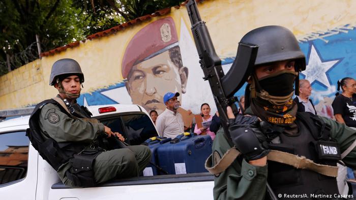 Venezuela Wahlen (Reuters/A. Martinez Casares)