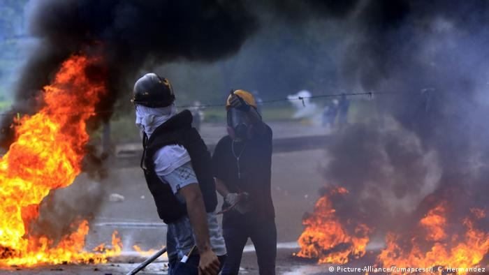 Venezuela Protest (Picture-Alliance/Zumapress/J. C. Hermandez)