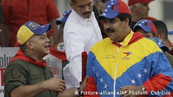 Maduro y Cabello: ¿Jefe y sucesor?