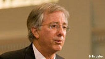 Dennis Ross while speaking at Emory University